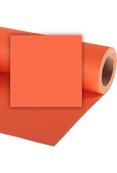 Colorama Stüdyo Kağıt Fon Pumpkin 272X1100 Cm