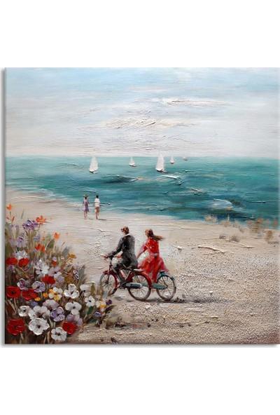 Arte Casero Manzara Yağlı Boya Kanvas Tablo 50x50 cm