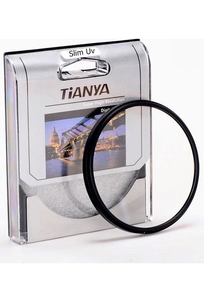 Nikon 82mm Lensler için Slim MC Uv Filtre - Tianya