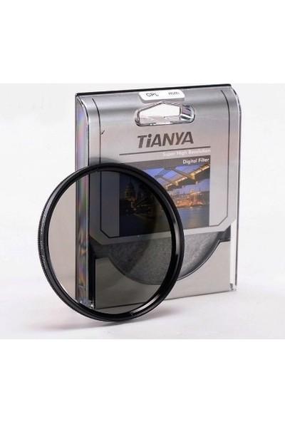 Nikon 85mm f/1.4 Lens için 77mm Circular CPL Polarize Filtre - Tianya