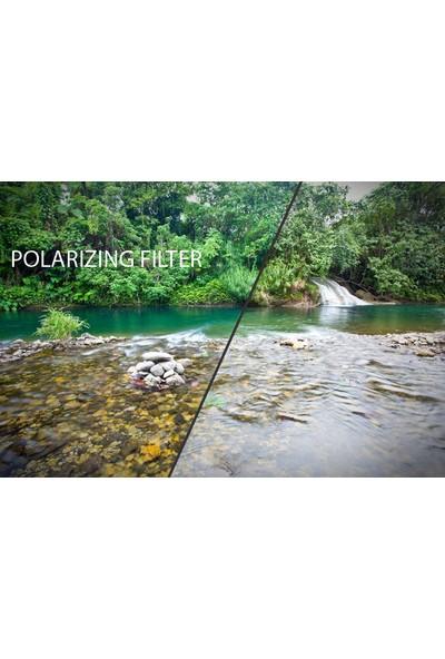 Nikon 50mm f/1.8 D Lens için 52mm Circular CPL Polarize Filtre - Beta