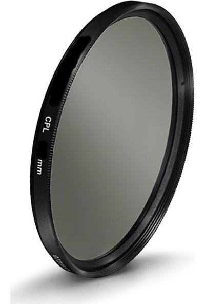 Tamron 18-400mm f/3.5-6.3 Lens için 72mm Circular CPL Polarize Filtre - Tianya
