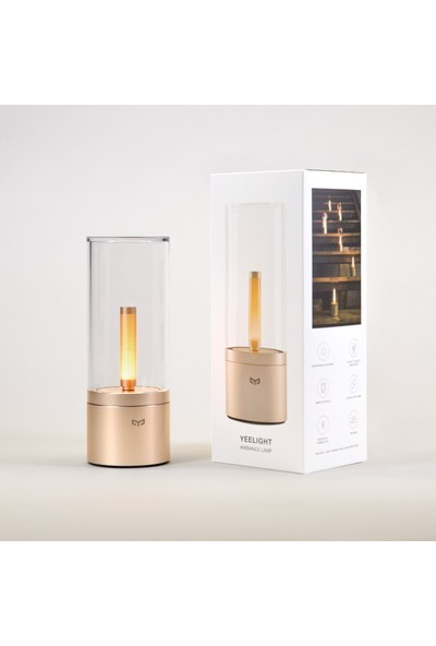 Xiaomi Yeelight Smart Home Ambiyans Lambası - Yeelight Ambiance Lamp