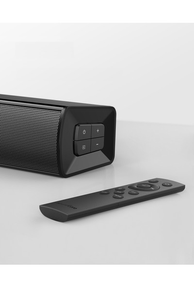 Anker Soundcore Infini Mini - 2 Kanal Soundbar 40W Kablosuz Bluetooth Ev Sinema ve Ses Sistemi - A3370