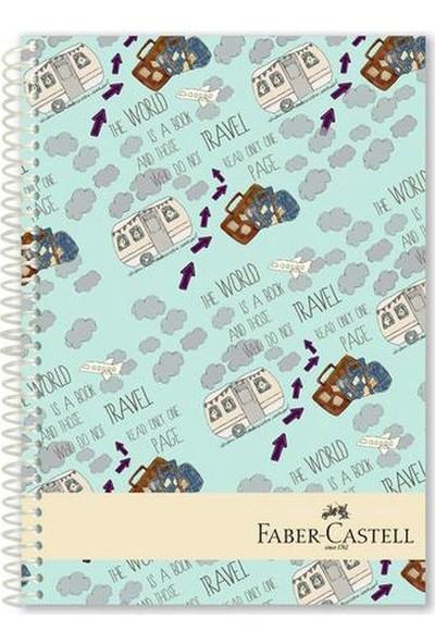 Faber-Castell Seyahat Sert Kapak Seperatörlü Defter 200YP
