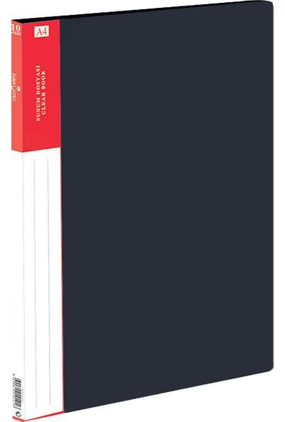 Faber-Castell Standart Sunum Dosyası 10 Yaprak Mavi