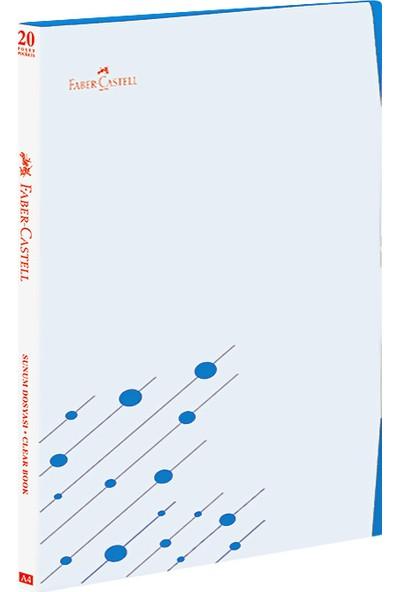 Faber-Castell Çift Renk Kapak Sunum Dosyası 20 Yaprak Turuncu (stoklar