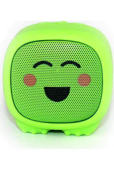 Dino Yeşil Bluetooth Hoparlör - Utangaç