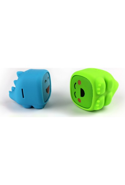 Dino Mavi Bluetooth Hoparlör - Şakacı