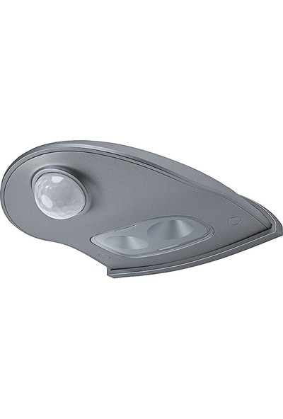 Osram Doorled Çift Sensörlü Kapı Önü Aydınlatması Gümüş Kasa