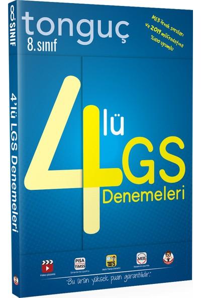 Tonguç Akademi 8. Sınıf 4'lü LGS Denemeleri