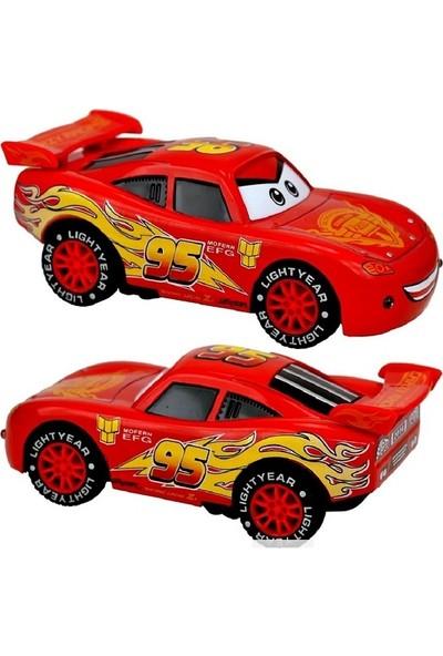 Disney Pixar Cars Arabalar Sesli Işıklı Diecast Metal Araba 12 cm
