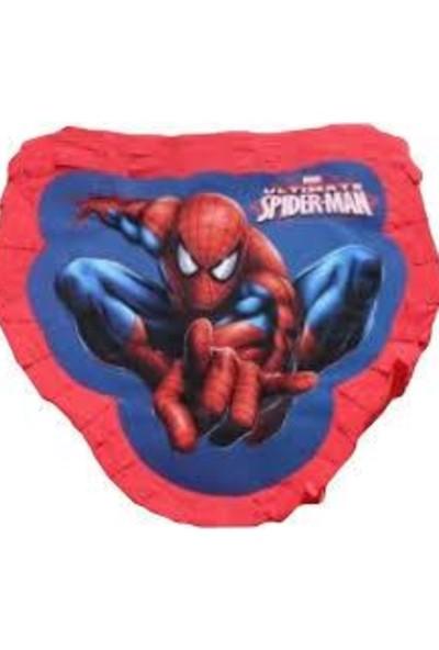 Balonpark Spider Man Pinyata Örümcek Adam Pinyata Spiderman Spaydırmen