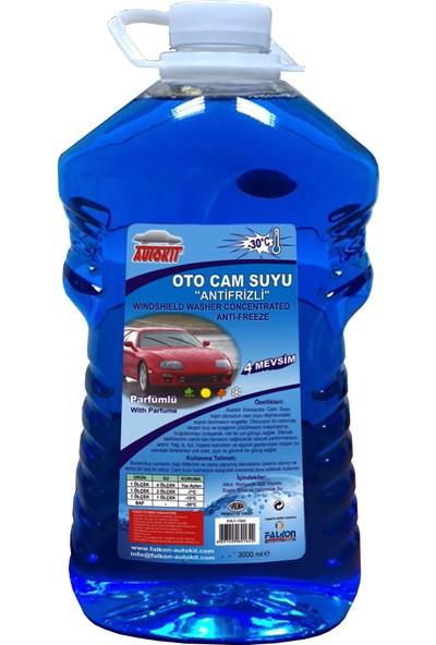 Autokit Antifrizli Oto Cam Suyu3 lt %30 Derece