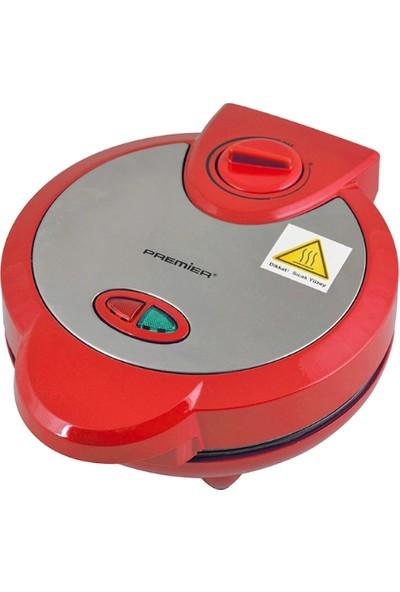 Premier PWM-215 Waffle Yapma Makinesi Kırmızı