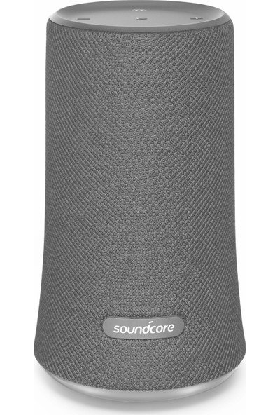 Anker SoundCore Flare Bluetooth Hoparlör - 360° Ses - IPX7 Suya Dayanıklılık - Gri - A3161HA1-OFP