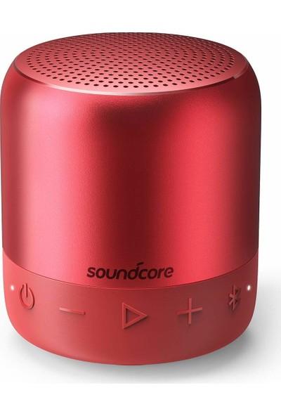 Anker SoundCore Mini 2 Bluetooth Hoparlör Kırmızı - IPX7 Suya Dayanıklı - 15 Saat Çalma Süresi - A3107H91 - OFP