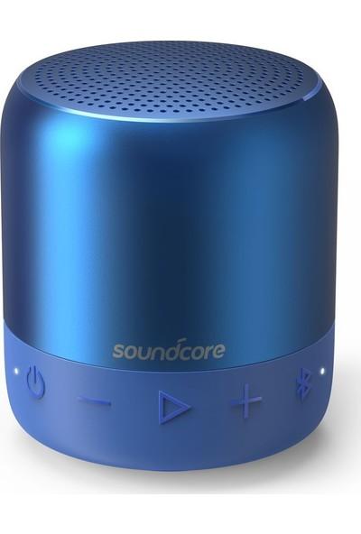Anker SoundCore Mini 2 Bluetooth Hoparlör Mavi - IPX7 Suya Dayanıklı - 15 Saat Çalma Süresi - A3107H31 - OFP