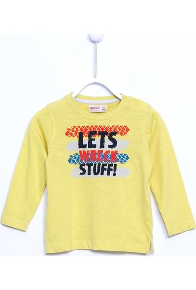 Silversun Bebek Erkek Örme Baskılı T-Shirt BK 110013
