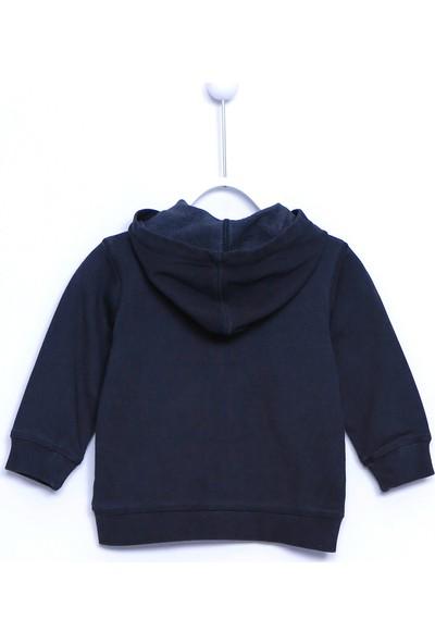Silversun Bebek Erkek Örme Baskılı Kapüşonlu Sweatshirt JM 110095