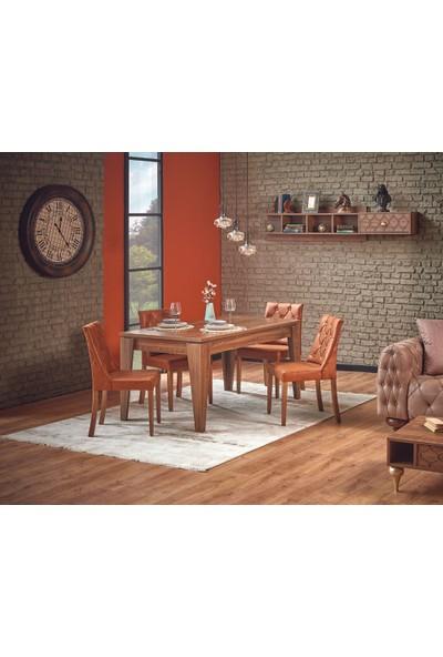 Abc Mobilya Carina Yemek Mesası ve 4 adet Sandalye