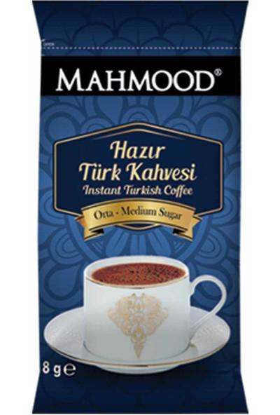 Mahmood Coffee Hazır Türk Kahvesi Orta 8 gr 12' li