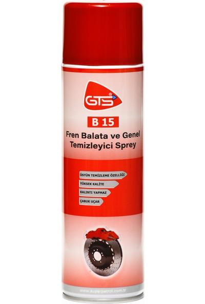 Gts B15 Fren Balata Ve Genel Temizleyici Sprey 500Ml