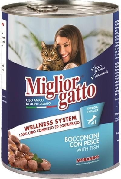Miglior Gatto Balıklı Kedi Konservesi 405 Gr