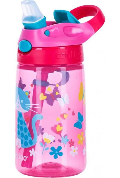 Contigo Gizmo Flip Kedicikler Çocuk Su Şişesi,Suluk 420 ml