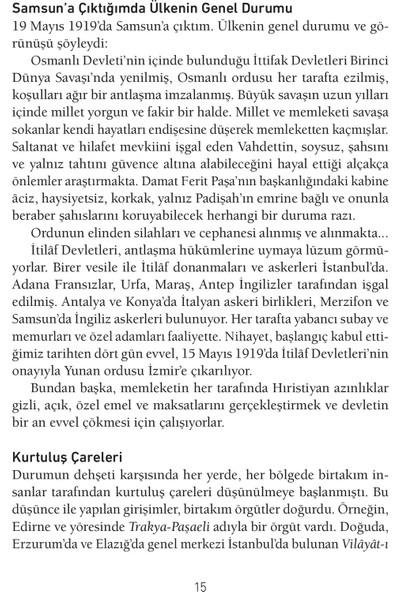 Günümüz Türkçesiyle Nutuk