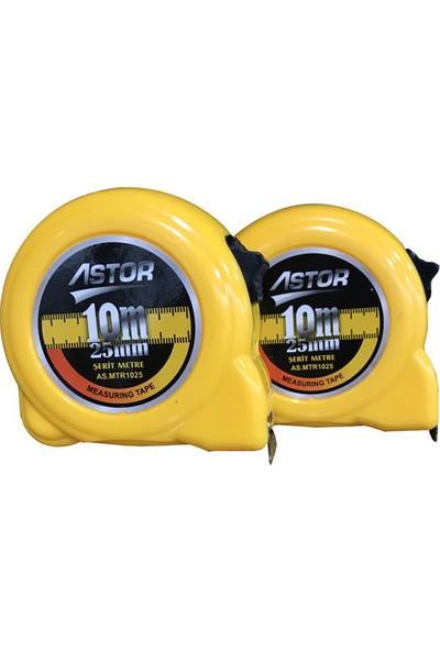 Astor 10X25mm Şerit Metre