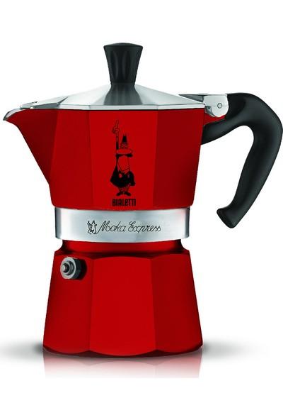 Bialetti Moka Pot Kırmızı 3 Cup