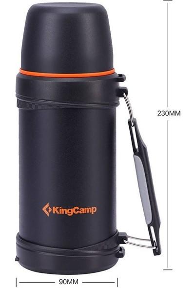Kıngcamp 750 Ml Vacuum Siyah Termos