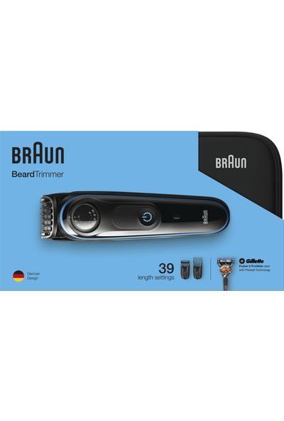 Braun Sakal Kesme ve Şekillendirme Makinesi BT 3940 + Özel Tasarım Seyahat Çantası