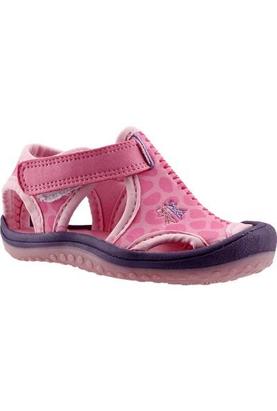 Ayakland Cute Kids Pembe Aqua Kız Çocuk Sandalet Deniz Ayakkabı