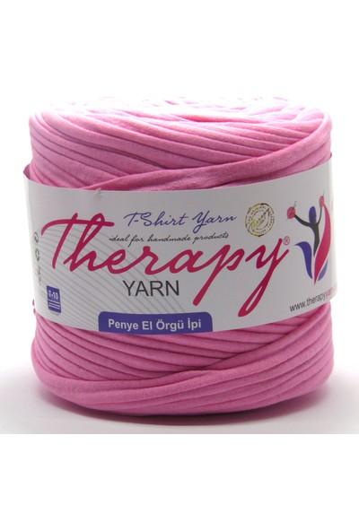 Therapy Yarn 210 Pembe Penye İp