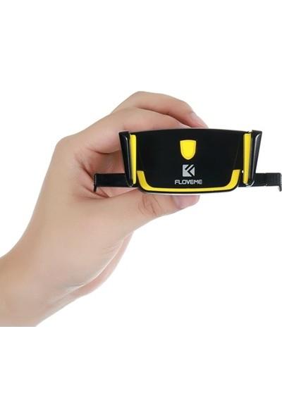 Floveme Araç İçi Telefon Tutucu Siyah - Sarı