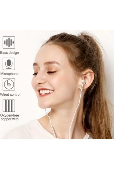 Huawei Honor AM116 Kablolu Kulaklık Mikrofonlu - Beyaz