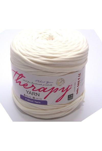 Therapy Yarn Cool Gray 1C Krem Penye İp