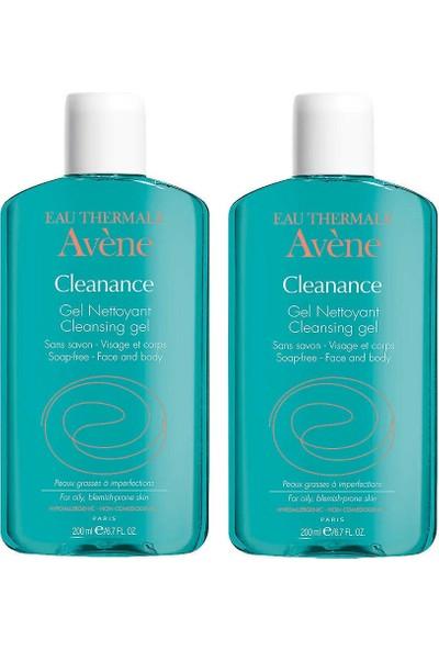 Avene Cleanance Gel Nettoyant 2x200 ml Set