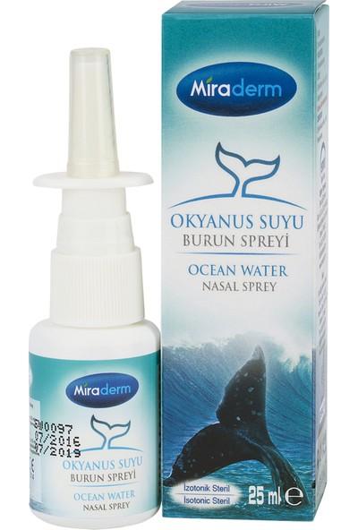 Miraderm Okyanus Suyu Burun Spreyi 25 ml