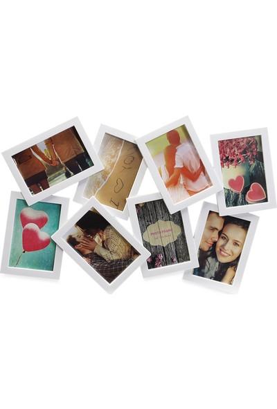 Koopman Fotoğraf Çerçevesi Beyaz 56X37X2CM 8 Resimli