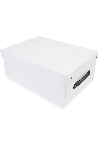 Koopman Saklama Kutusu Beyaz 35X26.5X15 Cm