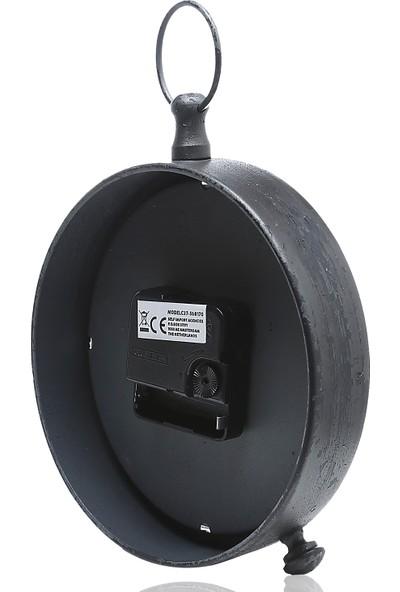 Koopman Masa Saati Siyah 16.5X20Cm