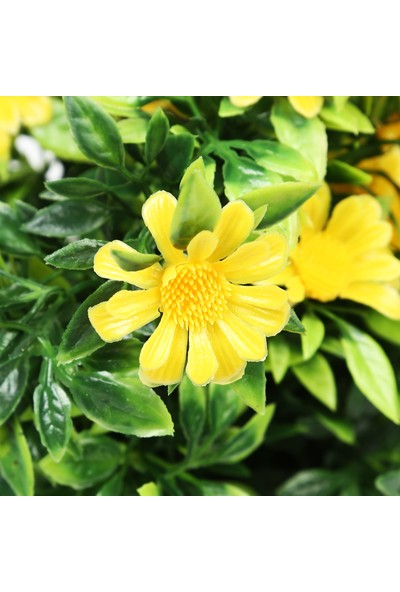 Koopman Yapay Bitki Çiçek Sari 10X10X25 Cm