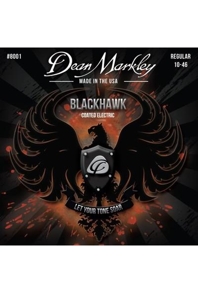 Dean Markley Blackhawk 8001 Kaplamalı Regular 10-46 Elektro Gita