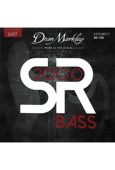Dean Markley Sr2000 Bass Medium Light 30-125 6 Tel Bas Gitar Tak?