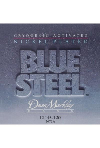 Dean Markley Blue Steel Bass Nps Light 40-100 Bas Gitar Takım Te