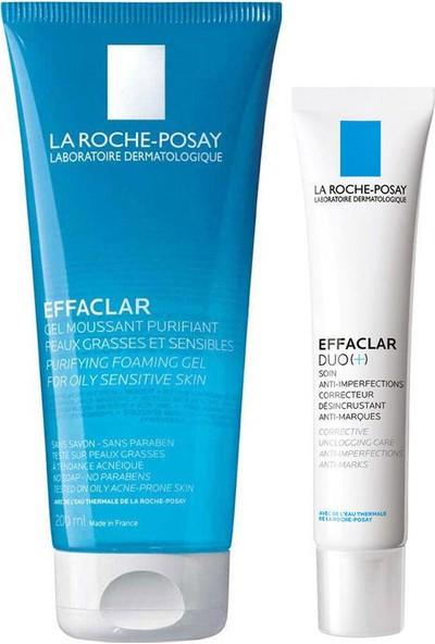 La Roche-Posay Effaclar Gel 200 ml + Effaclar Duo+ 40 ml Set