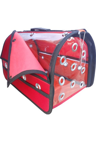 Tarçınpet Kedi&Köpek Taşıma Çantası Kanatlı Şeffaf Model Flybag